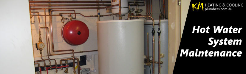 Hot Water System Maintenance Caveat