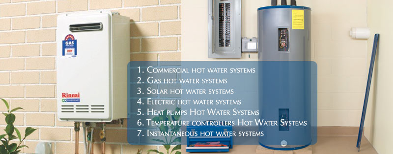 Hot Water Systems Installations Indented Head