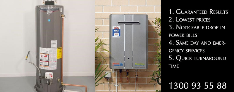 Affordable Hot Water System Repairs Indented Head
