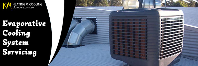 Evaporative Cooling System Servicing Hillside