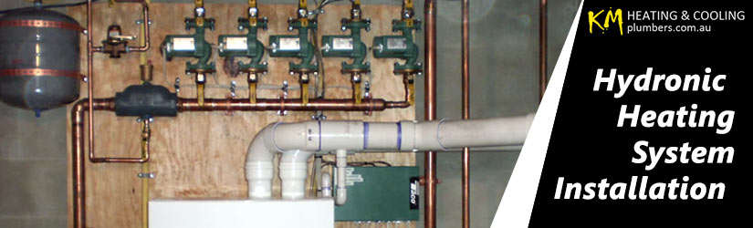 Hydronic Heating System Installation Manifold Heights